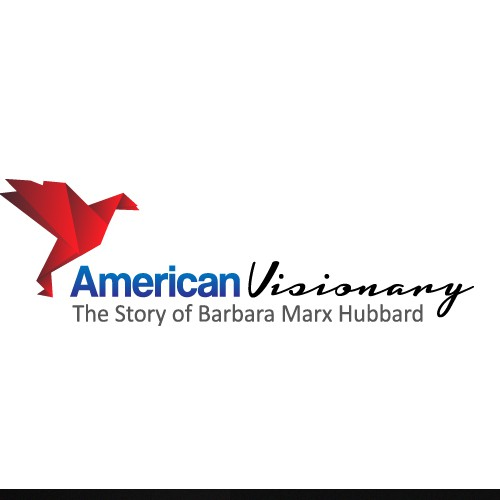 Create the next logo and business card for American Visionary