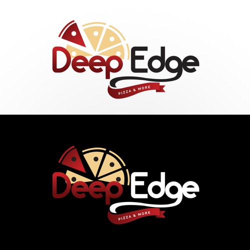Deep Edge pizza logo