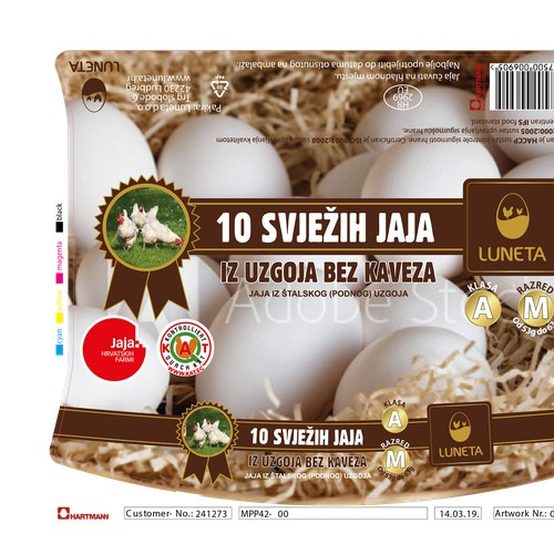 eggs packaging design