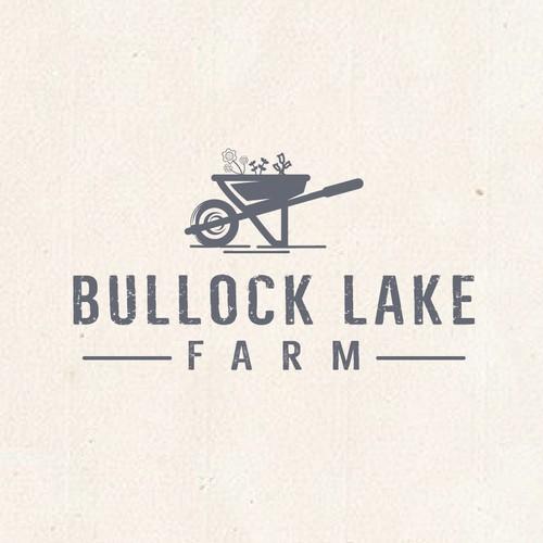 non used logo concept for Bullock Lake Farm
