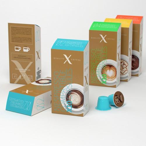 Luxurious Coffee Capsule box