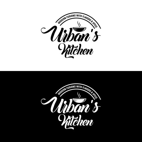 Design a Elegant & Styled Logo for Urban's Kitchen Food Blog