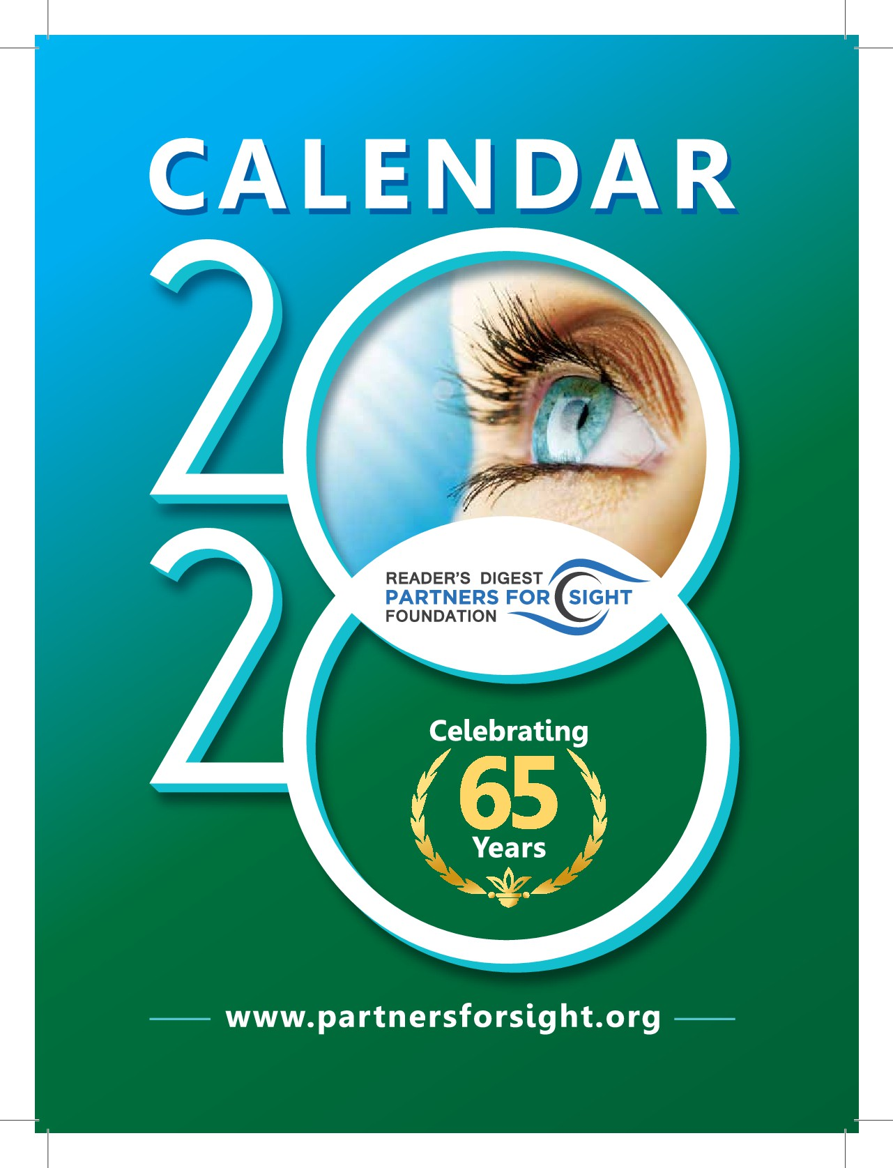 Help us celebrate the year 2020 by designing the cover for our very popular large print calendar!