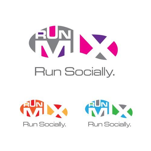 RunMix - Logo Design