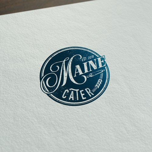 Logo for a food company