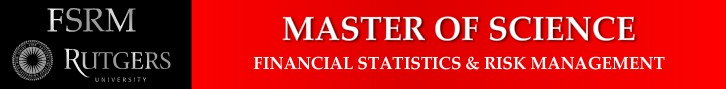 New banner ad wanted for Financial Statistics and Risk Management