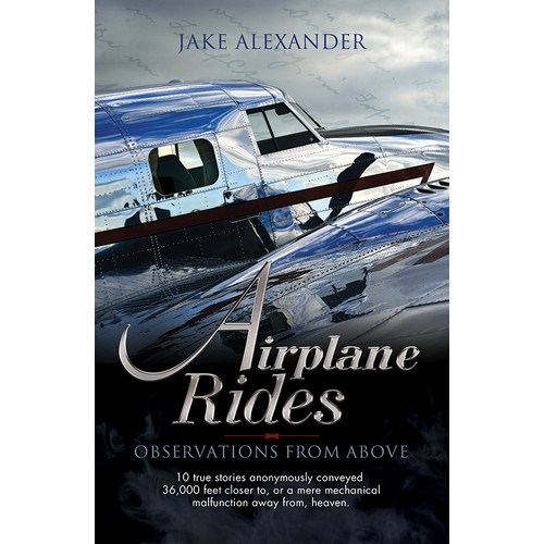 Design E Book cover for Airplane Rides - Observations From Above