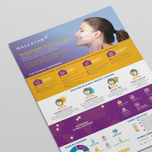 HALLSTAR Poster design