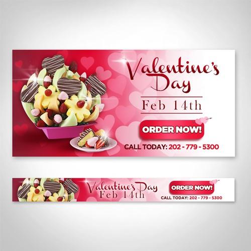 Banner Valentine's Day