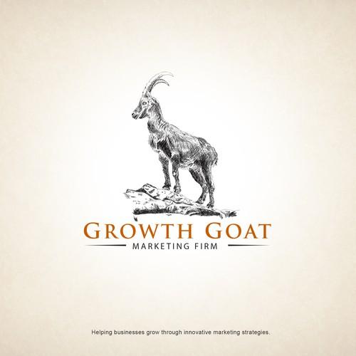 Illustrative logo for a marketing agency