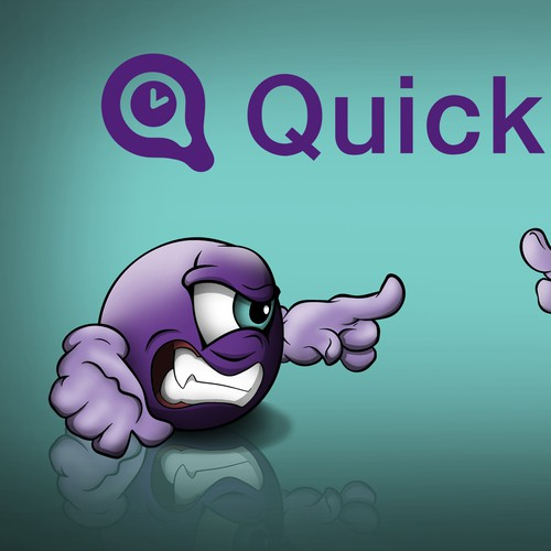 Mascot for Quick Sign