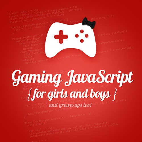 Gaming JavaScript e-book unused concept