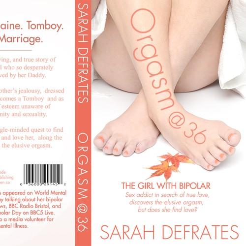 Autobiography needs a creative book cover design