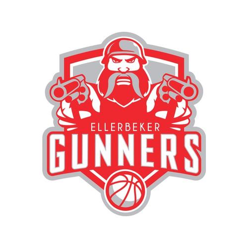 Ellerbeker Gunners logo