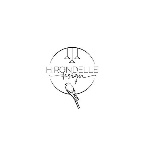 "Logo concept ""Hirondelle design"""