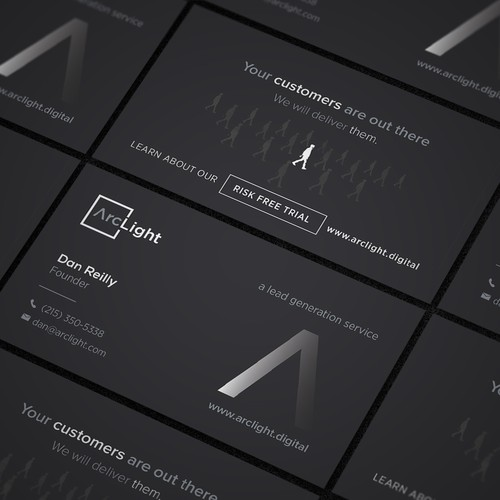 Business Card Concept for Digital Marketing Firm
