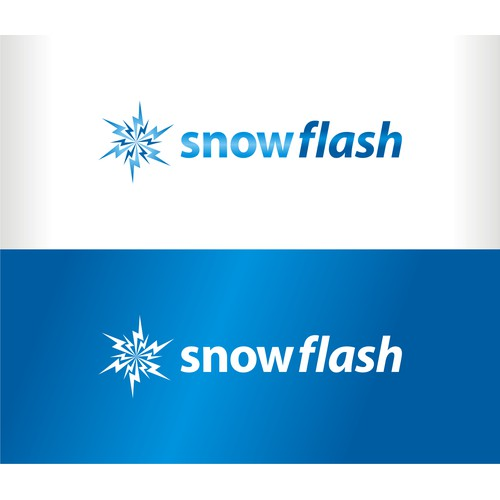 Logo for Snowflash - mobile stealth startup