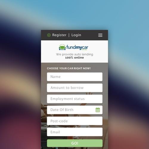 App design for online car booking