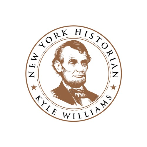 Logo concept for a historian