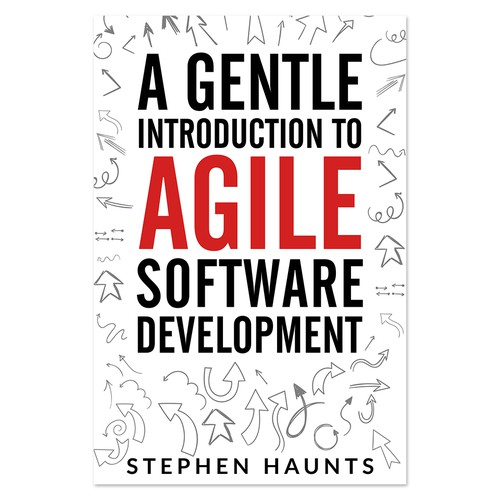 Book cover for a book about agility software development