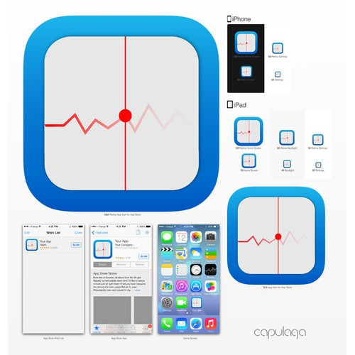 Icon app for medical