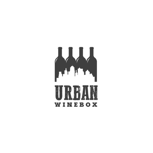 Logo for company focussing on creating shared urban wine cellars