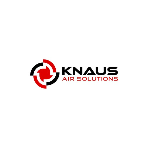 Logo design for Knaus Air Solutions