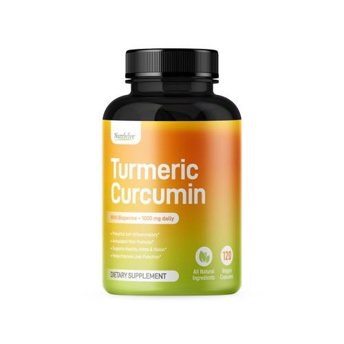 Turmeric Capsules Label