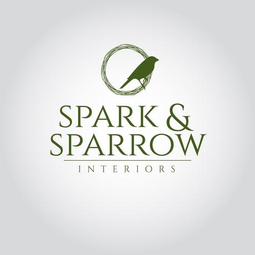 Elegant logo for Interior Decorators