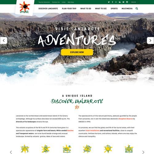 Bold, creative and fun design for a cool island