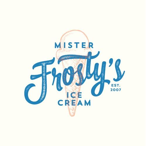Ice Cream Shop rebranding for 10 year anniversary