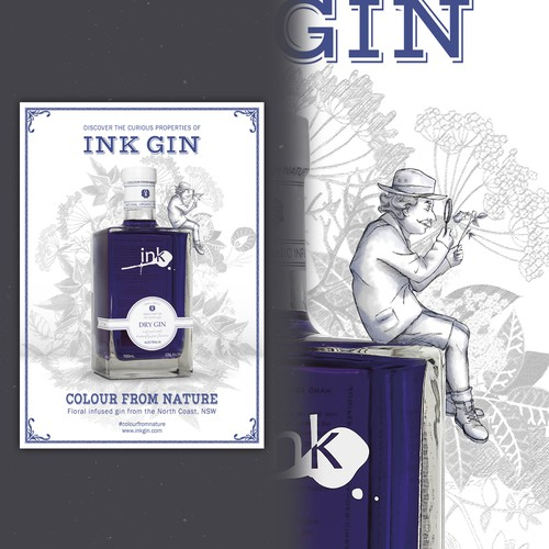 Promotional Poster for Ink Gin
