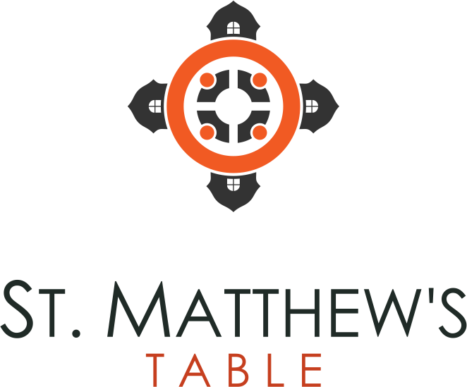 Create a logo for a dinner church YOU would want to attend