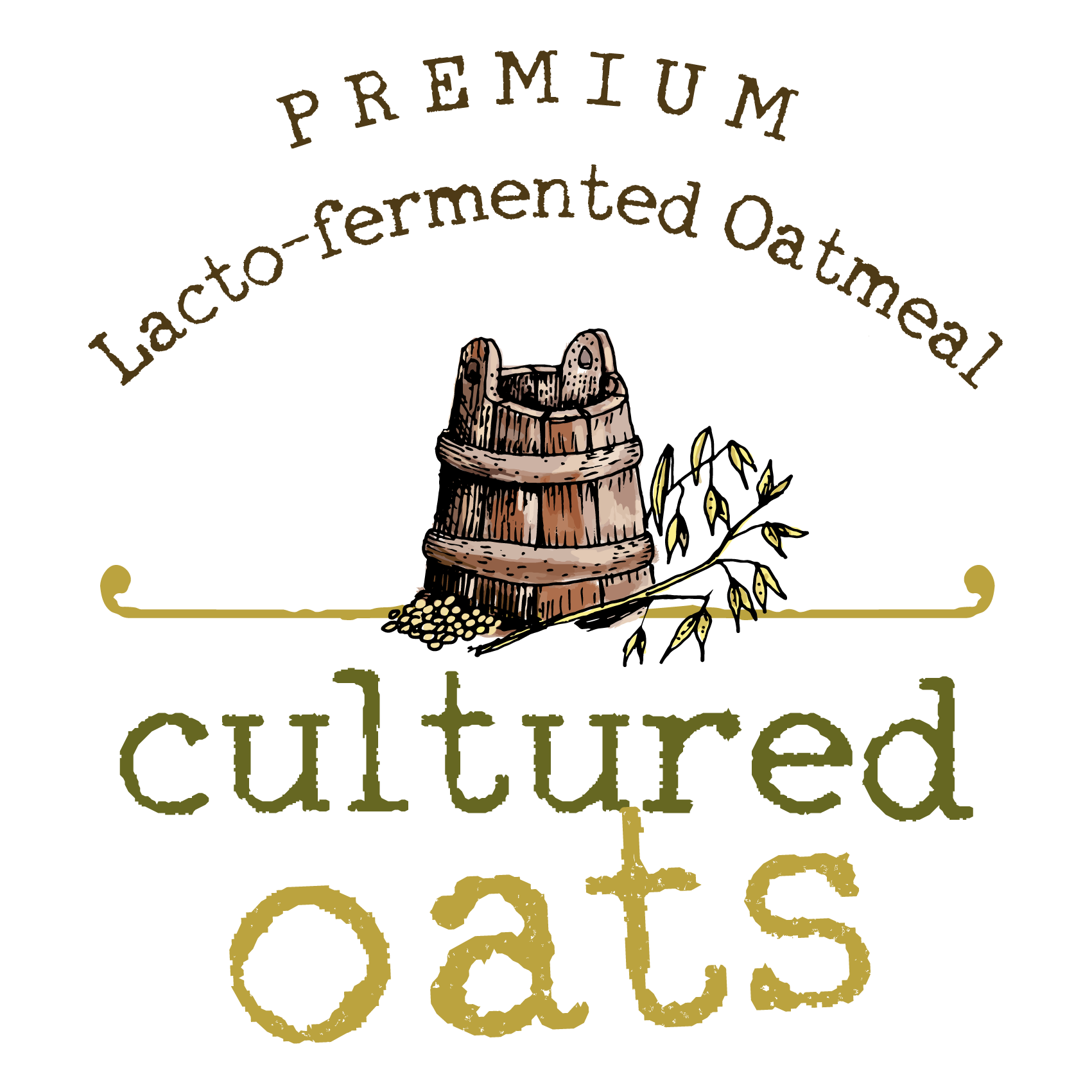 Design a logo for a new line of premium probiotic oatmeal