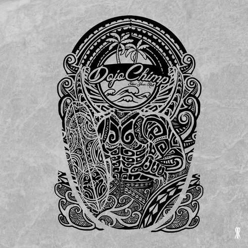 a Polynesian shield for DojoChimp