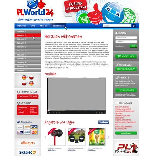 Layout/Design Webseite
