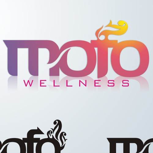 MoFo: Wellness redefined.  Start-up company logo