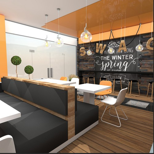 Fast Food interior concept