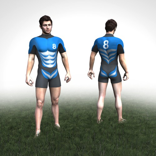 Fashionable, Sexy, Innovative Rugby Shirt and Short design