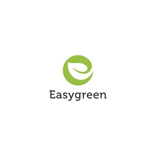 Combination logo design for Easygreen
