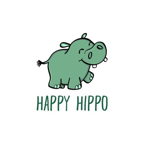 Hippo logo design