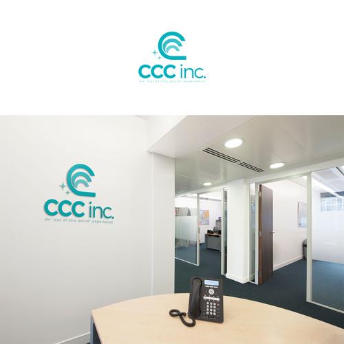 Logo for CCC inc.