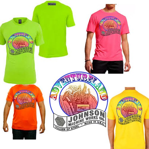 Adventureland t-shirt 2015