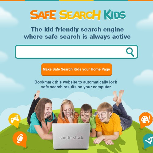 New website design wanted for Safe Search Kids