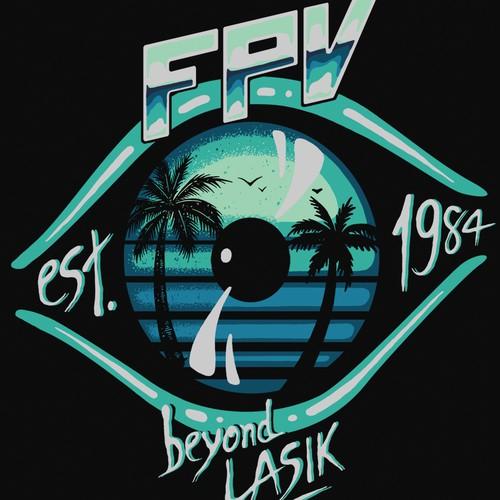 T-shirt design for Focal Point Vision