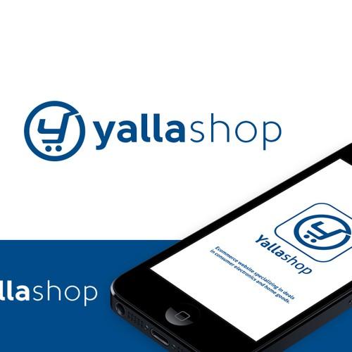 Bold logo for ecommerce electronics website