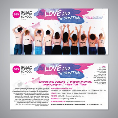 Love and Information Flyer