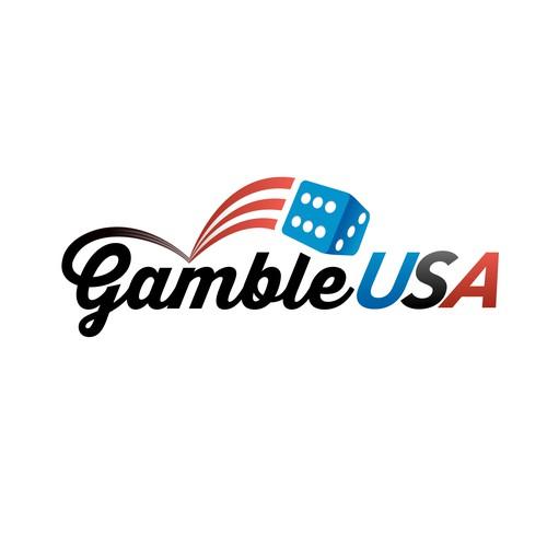 GambleUSA logo concept