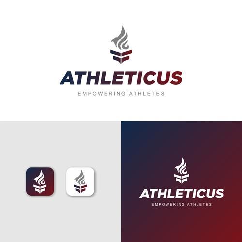 contest Athleticus App Logo Refresh Update