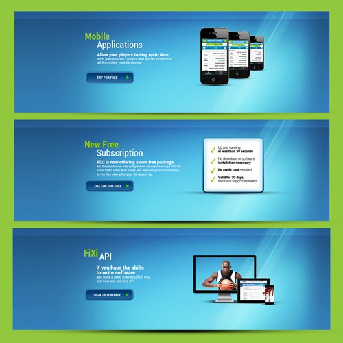 Banner Designs for Existing Website